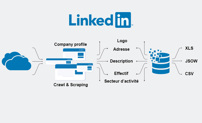 Scraping with Linkedin